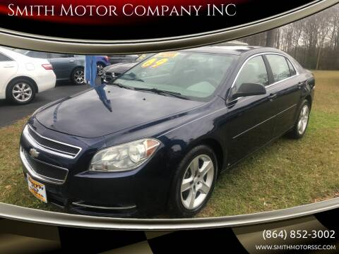 2009 Chevrolet Malibu for sale at Smith Motor Company INC in Mc Cormick SC