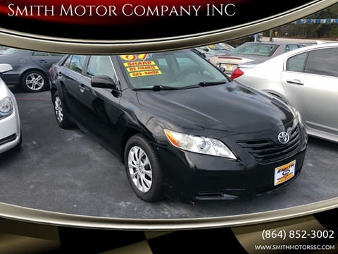 2007 Toyota Camry for sale at Smith Motor Company INC in Mc Cormick SC