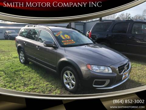 2010 Volvo XC70 for sale at Smith Motor Company INC in Mc Cormick SC