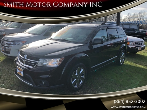 2012 Dodge Journey for sale at Smith Motor Company INC in Mc Cormick SC