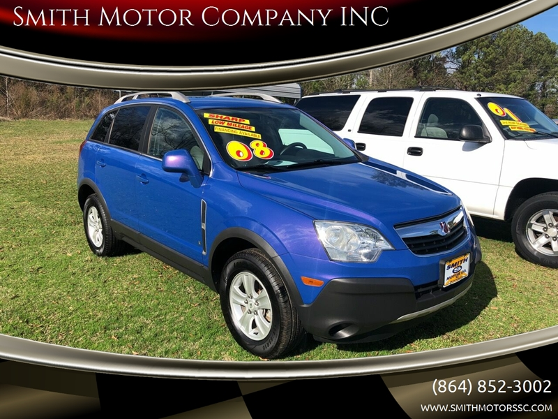 2008 Saturn Vue for sale at Smith Motor Company INC in Mc Cormick SC