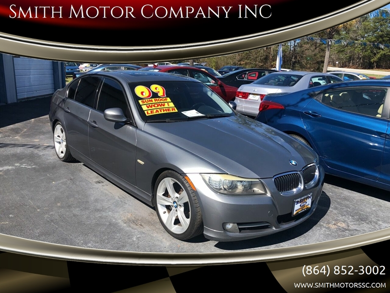 2009 BMW 3 Series for sale at Smith Motor Company INC in Mc Cormick SC