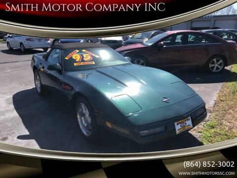 1995 Chevrolet Corvette for sale at Smith Motor Company INC in Mc Cormick SC