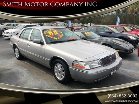 2005 Mercury Grand Marquis for sale at Smith Motor Company INC in Mc Cormick SC