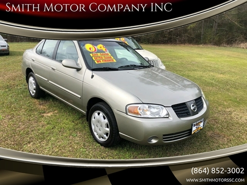 2004 Nissan Sentra for sale at Smith Motor Company INC in Mc Cormick SC