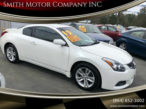 2013 Nissan Altima for sale at Smith Motor Company INC in Mc Cormick SC