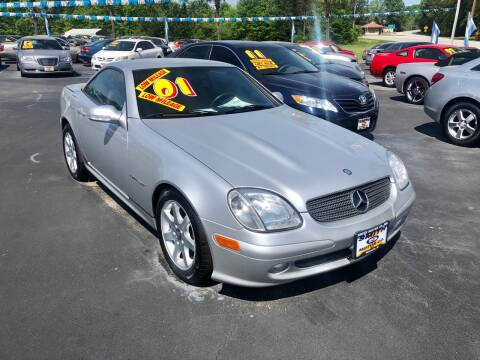 2001 Mercedes-Benz SLK for sale at Smith Motor Company INC in Mc Cormick SC