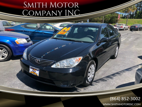 2006 Toyota Camry for sale at Smith Motor Company INC in Mc Cormick SC