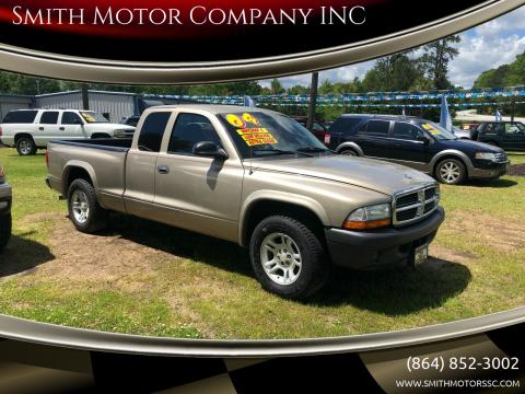 2004 Dodge Dakota for sale at Smith Motor Company INC in Mc Cormick SC