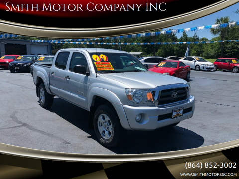 2009 Toyota Tacoma for sale at Smith Motor Company INC in Mc Cormick SC