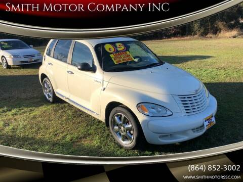 2005 Chrysler PT Cruiser for sale at Smith Motor Company INC in Mc Cormick SC