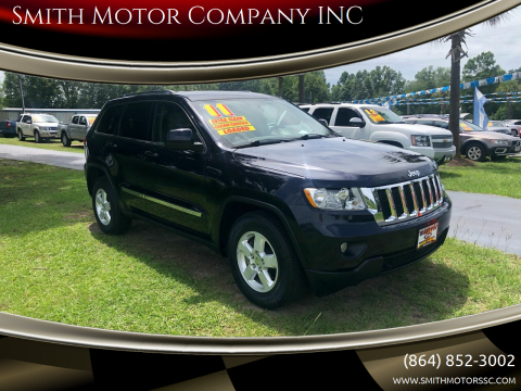 2011 Jeep Grand Cherokee for sale at Smith Motor Company INC in Mc Cormick SC