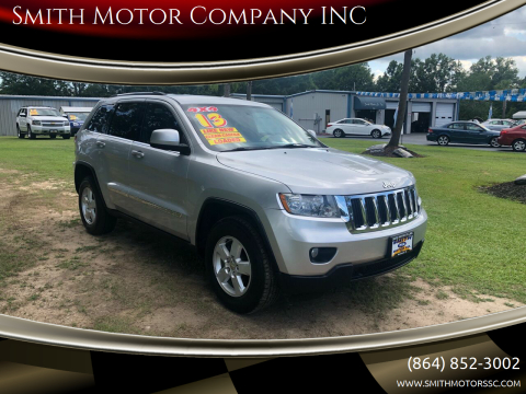 2013 Jeep Grand Cherokee for sale at Smith Motor Company INC in Mc Cormick SC