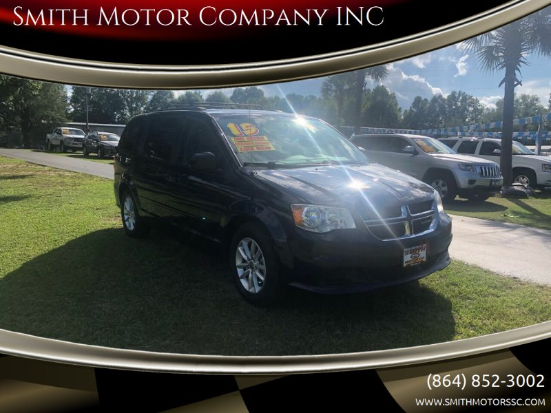 2015 Dodge Grand Caravan for sale at Smith Motor Company INC in Mc Cormick SC