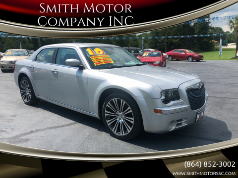 2010 Chrysler 300 for sale at Smith Motor Company INC in Mc Cormick SC
