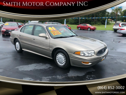 2001 Buick LeSabre for sale at Smith Motor Company INC in Mc Cormick SC