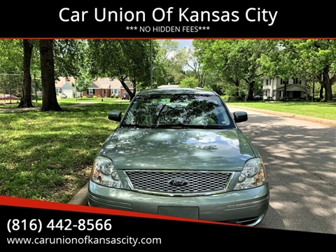 2007 Ford Five Hundred for sale at Car Union Of Kansas City in Kansas City MO