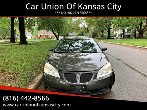 2007 Pontiac G6 for sale in Kansas City, MO
