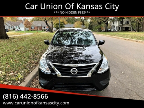 2017 Nissan Versa for sale in Kansas City, MO