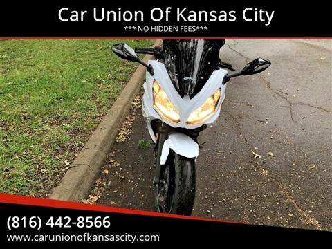2015 Kawasaki Ninja for sale at Car Union Of Kansas City in Kansas City MO