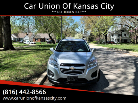 2015 Chevrolet Trax for sale at Car Union Of Kansas City in Kansas City MO