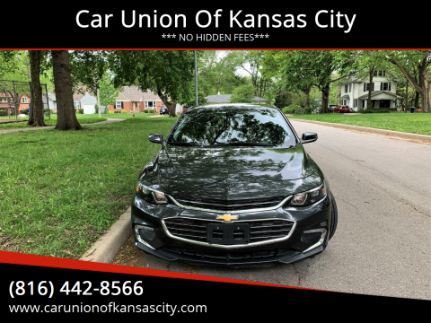 2016 Chevrolet Malibu for sale at Car Union Of Kansas City in Kansas City MO