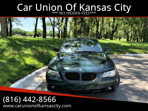 2005 BMW 5 Series for sale at Car Union Of Kansas City in Kansas City MO