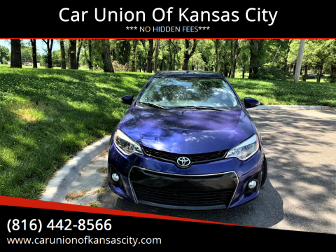 2015 Toyota Corolla for sale at Car Union Of Kansas City in Kansas City MO