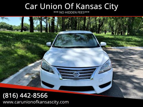 2014 Nissan Sentra for sale at Car Union Of Kansas City in Kansas City MO