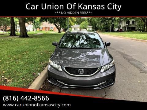 2015 Honda Civic for sale at Car Union Of Kansas City in Kansas City MO