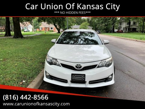 2012 Toyota Camry for sale at Car Union Of Kansas City in Kansas City MO