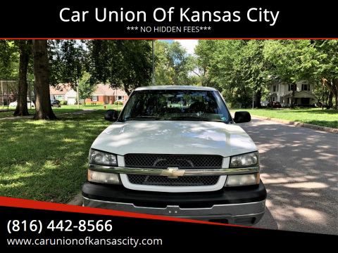 2003 Chevrolet Silverado 1500 for sale at Car Union Of Kansas City in Kansas City MO
