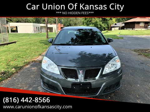 2009 Pontiac G6 for sale at Car Union Of Kansas City in Kansas City MO