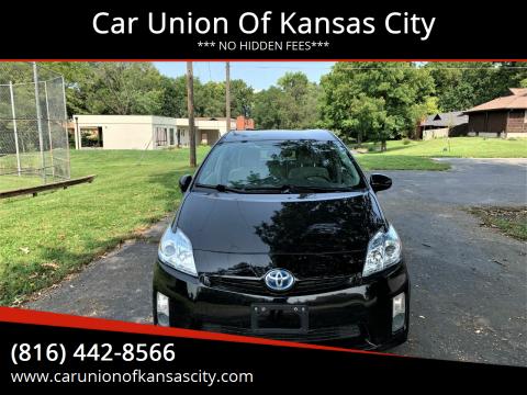 2011 Toyota Prius for sale at Car Union Of Kansas City in Kansas City MO