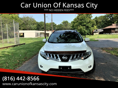 2009 Nissan Murano for sale at Car Union Of Kansas City in Kansas City MO