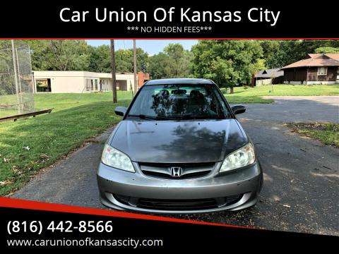 2005 Honda Civic for sale at Car Union Of Kansas City in Kansas City MO