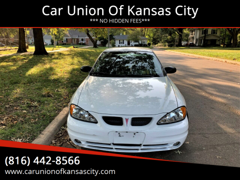 2004 Pontiac Grand Am for sale at Car Union Of Kansas City in Kansas City MO