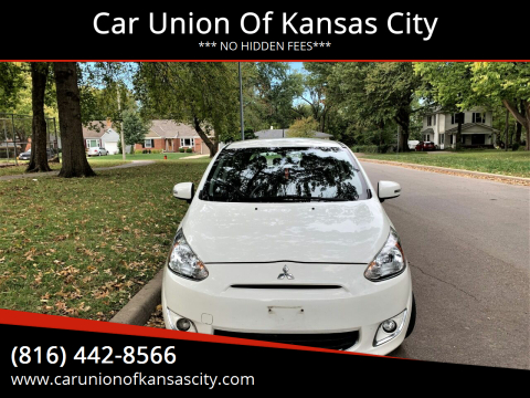2015 Mitsubishi Mirage for sale at Car Union Of Kansas City in Kansas City MO