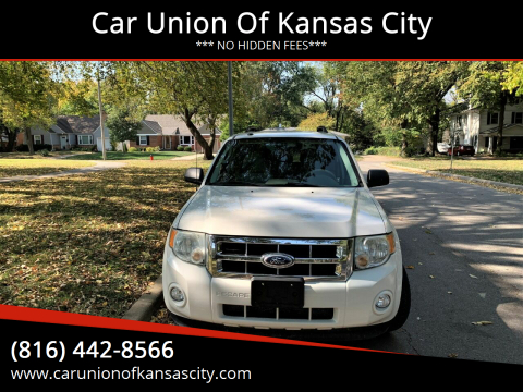 2010 Ford Escape for sale at Car Union Of Kansas City in Kansas City MO