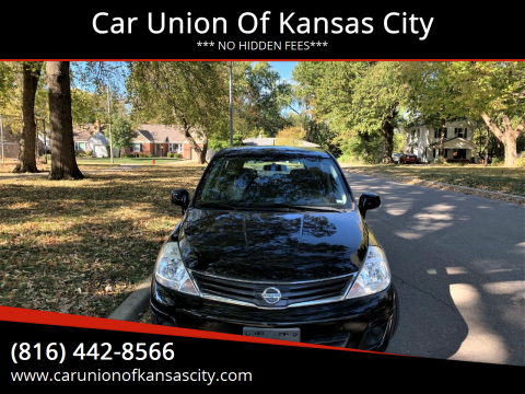 2010 Nissan Versa for sale at Car Union Of Kansas City in Kansas City MO