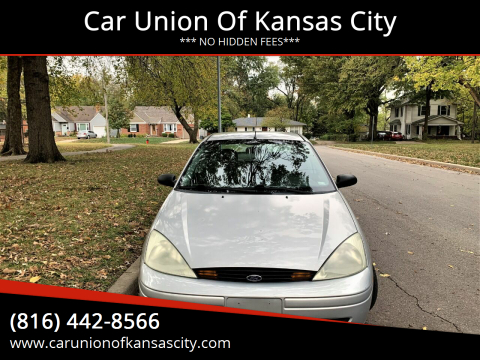 2002 Ford Focus for sale at Car Union Of Kansas City in Kansas City MO