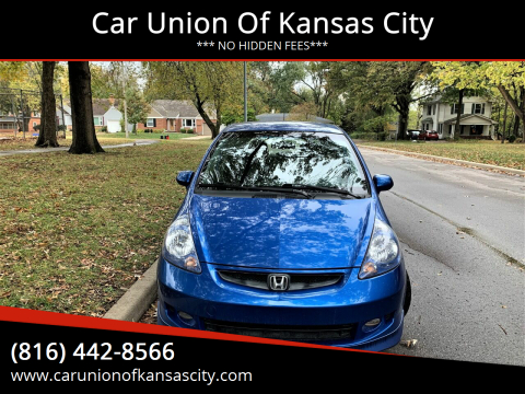 2008 Honda Fit for sale at Car Union Of Kansas City in Kansas City MO