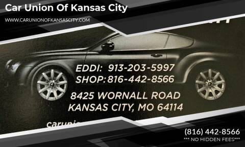 2008 Honda Odyssey for sale at Car Union Of Kansas City in Kansas City MO
