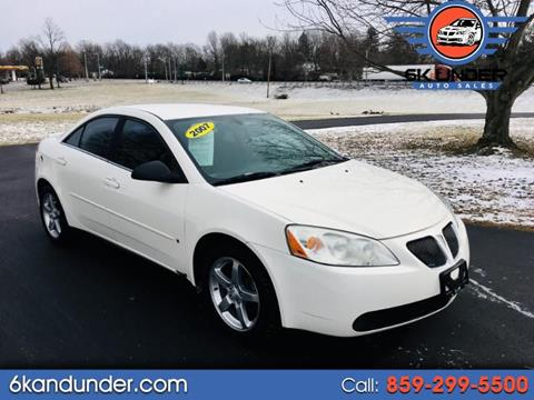 2007 Pontiac G6 for sale in Lexington, KY