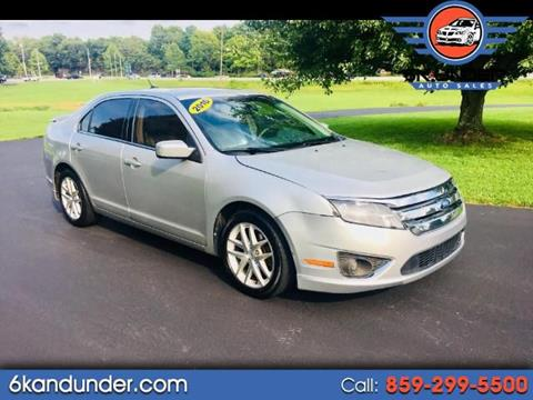 2010 Ford Fusion for sale in Lexington, KY