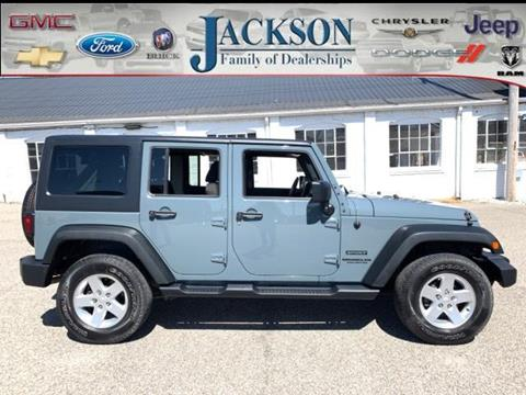 2014 Jeep Wrangler Unlimited for sale in Clinton, IN