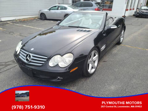2004 Mercedes-Benz SL-Class for sale at Plymouthe Motors in Leominster MA