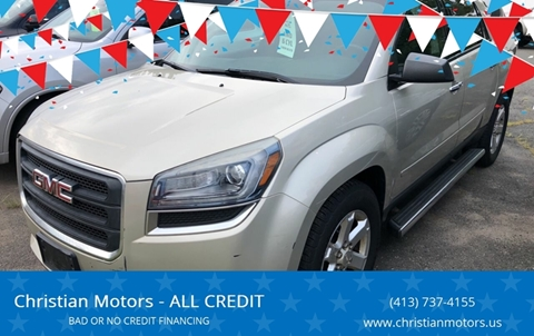 2013 GMC Acadia for sale in Springfield, MA
