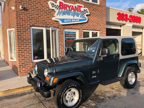 2003 Jeep Wrangler for sale in Portsmouth, VA