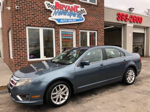2012 Ford Fusion SEL for sale at Bryant Motorsports Auto Sales Inc in Portsmouth VA